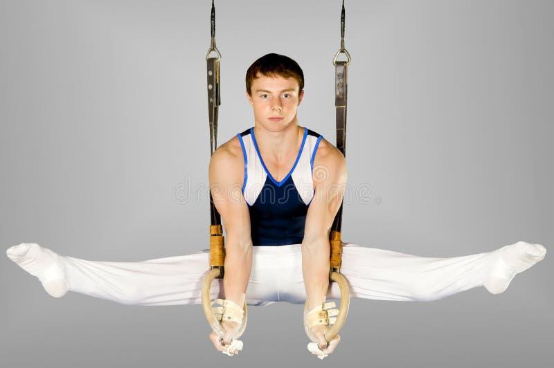 Gymnast stockfotos