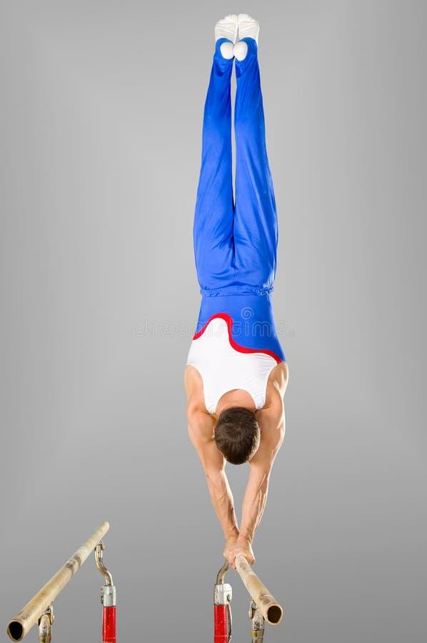 gymnast royaltyfri fotografi