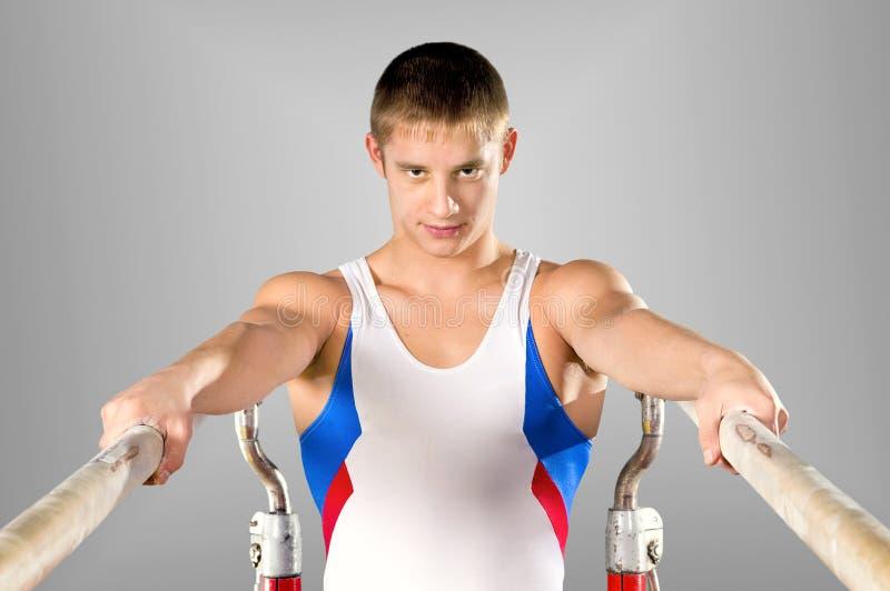 Gymnast lizenzfreie stockbilder