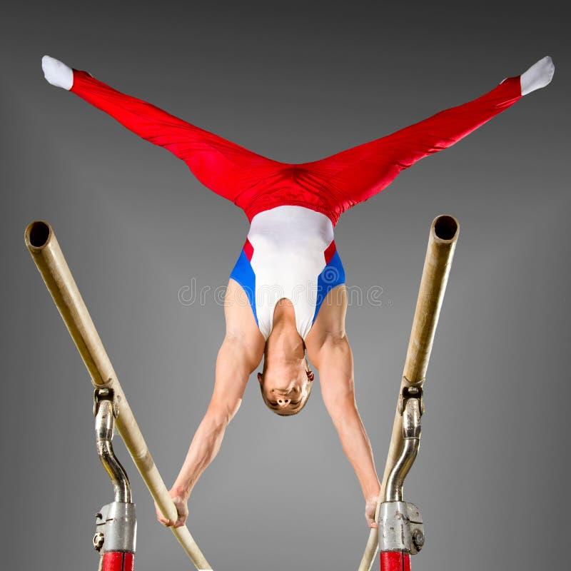 Gymnast stockfoto