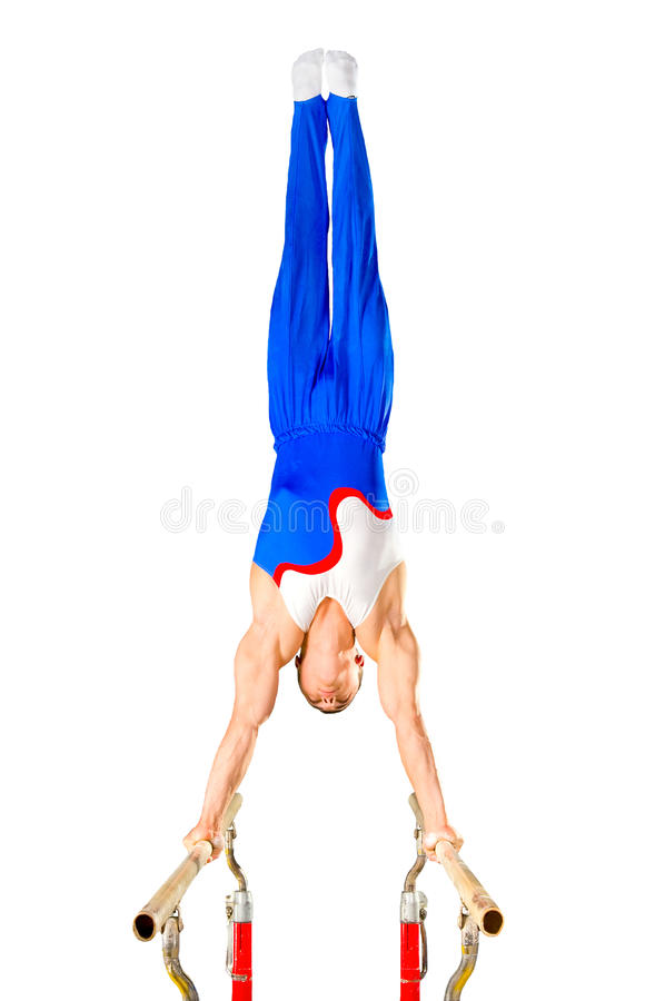 Gymnast stockbilder