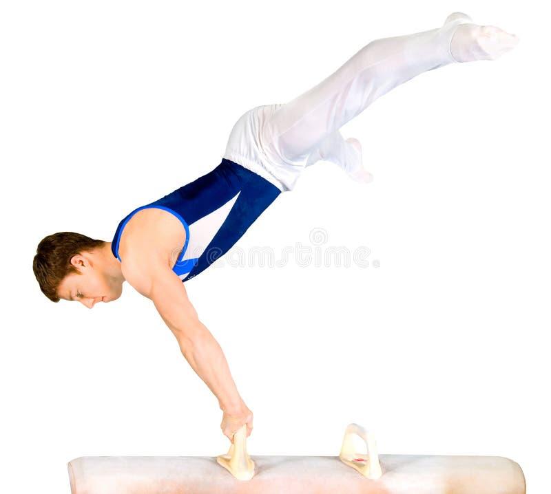 Gymnast lizenzfreie stockfotos
