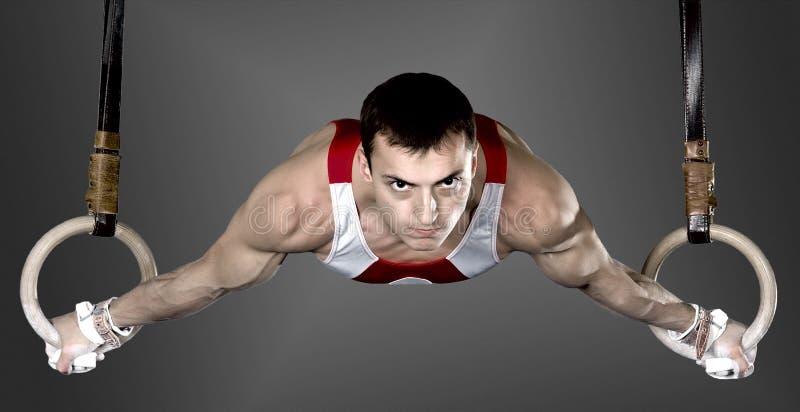 Gymnast stockfotografie