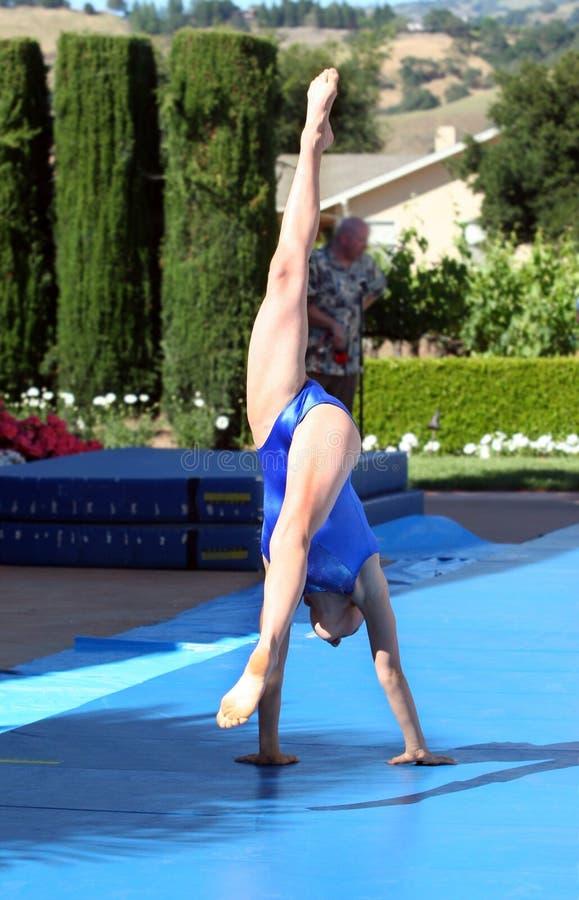 gymnast fotografering för bildbyråer