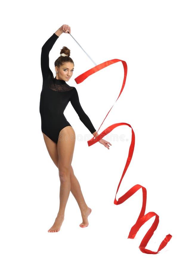 gymnast στοκ φωτογραφία με δικαίωμα ελεύθερης χρήσης