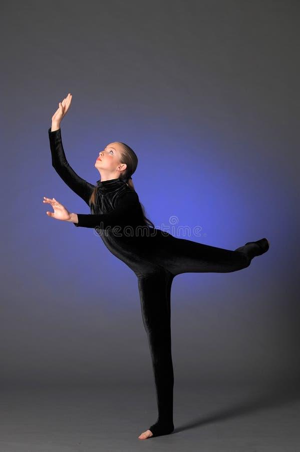 Gymnast fotografia de stock
