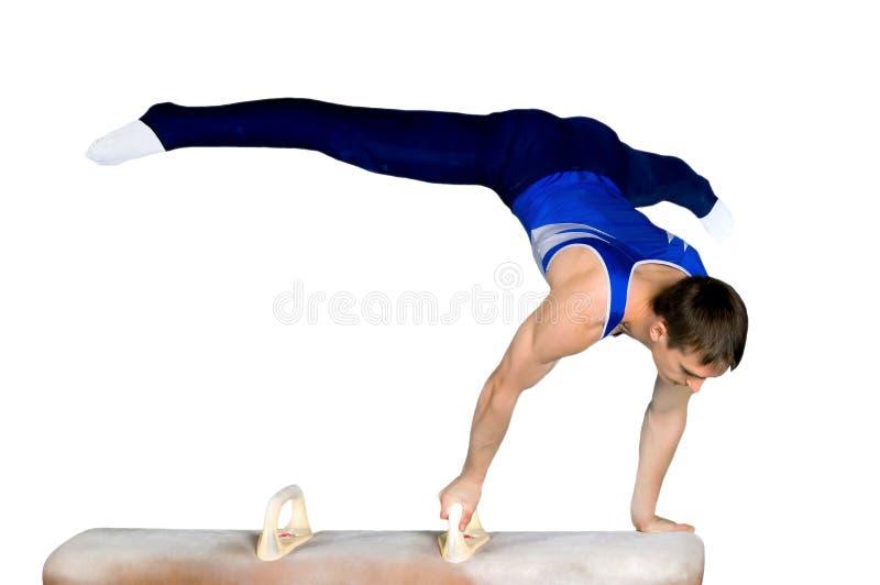 Gymnast lizenzfreies stockbild