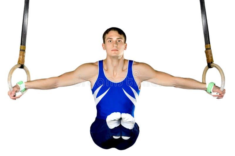 Gymnast foto de stock
