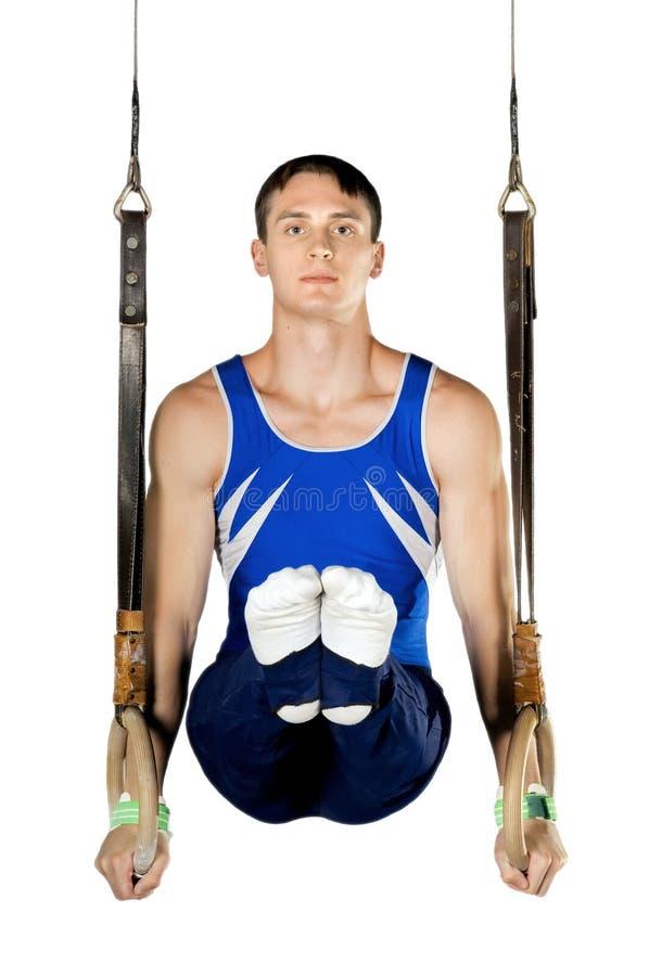 Gymnast arkivbilder