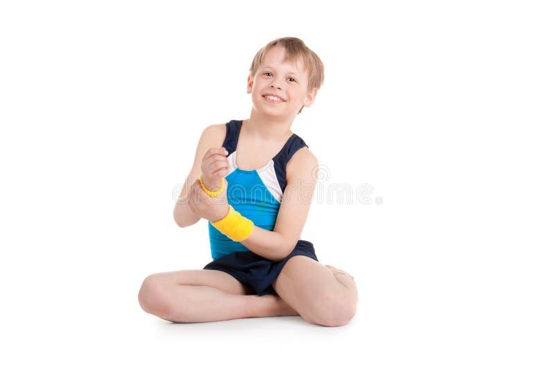 Gymnast fotografie stock libere da diritti