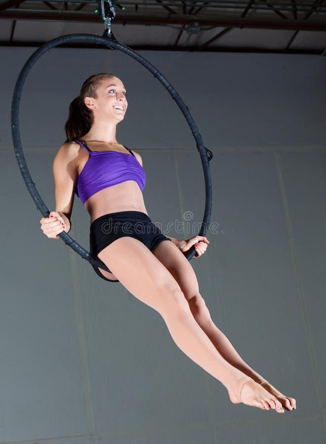 Gymnast στοκ εικόνες με δικαίωμα ελεύθερης χρήσης