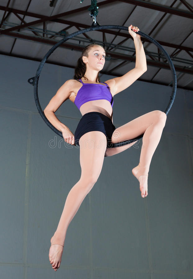 Gymnast στοκ εικόνες