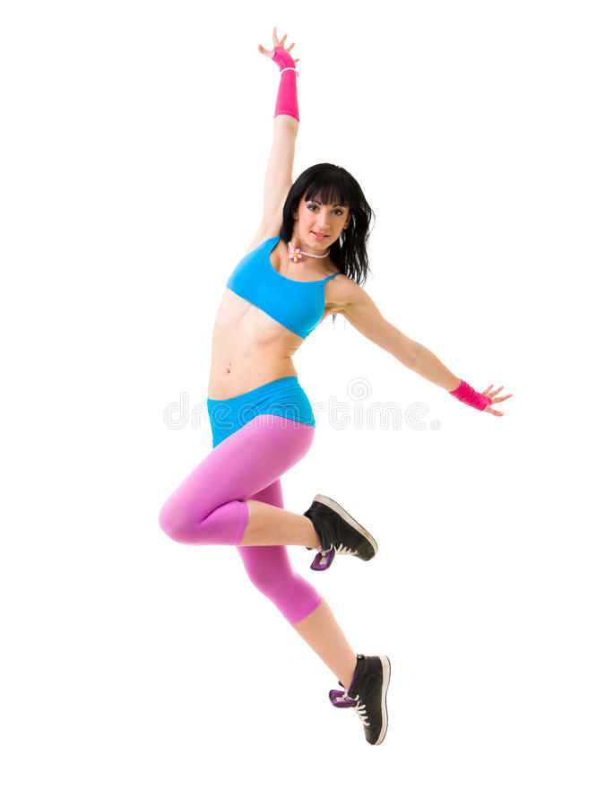Download Gymnast girl dancing stock image. Image of contemporary - 26860959