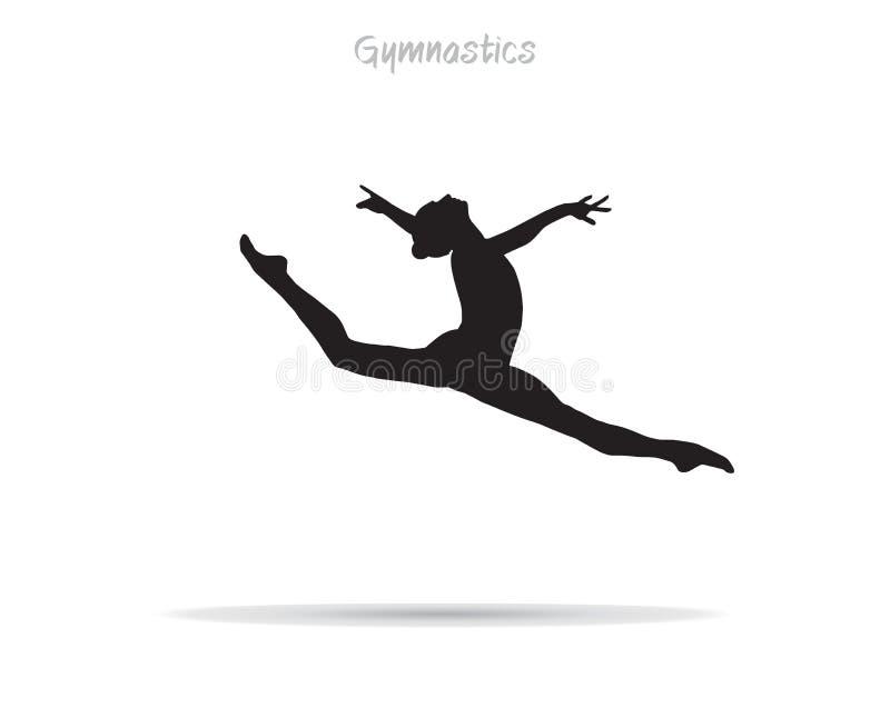 Download Gymnast girl stock vector. Image of junior, dancer, gymnast - 81632468
