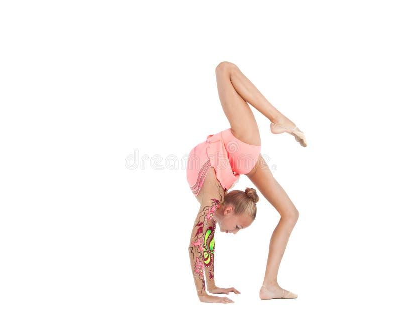 Gymnast novo fotografia de stock
