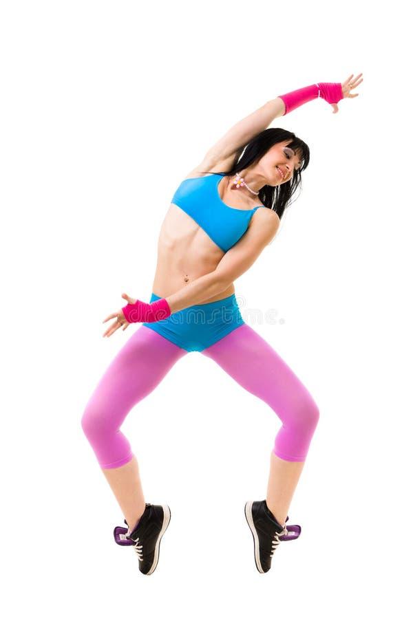Gymnast Woman Dancing Stock Image