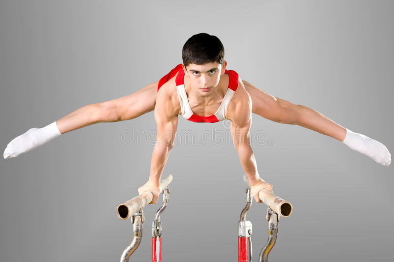Gymnaste photo stock