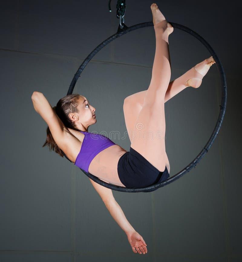 Gymnaste photo libre de droits