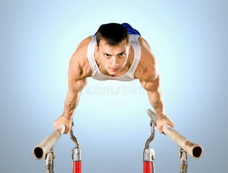 gymnaste photo stock