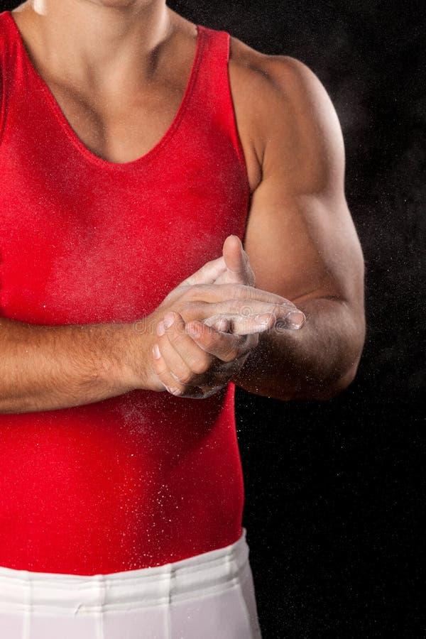 Gymnaste mâle photos stock