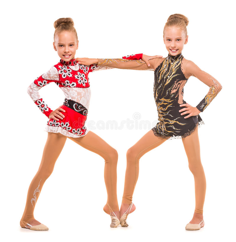 gymnaster arkivbilder