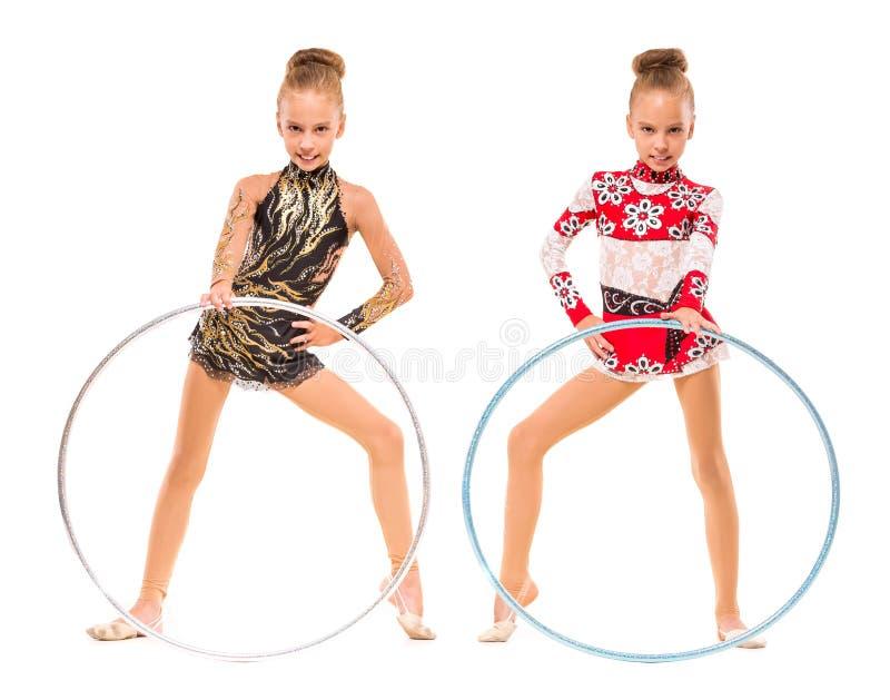 gymnaster royaltyfri foto