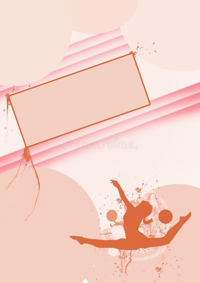 Download Gymnastic stock illustration. Illustration of graceful - 23473656