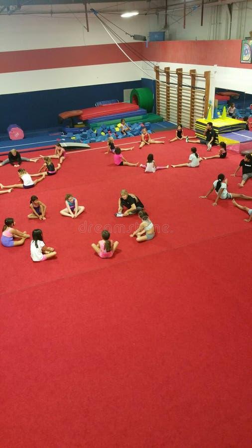 gymnastic fotos de stock