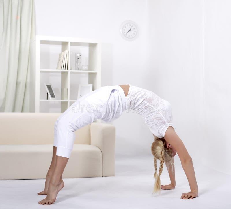 Download Gymnastic Bridge Stock Images - Image: 24366674