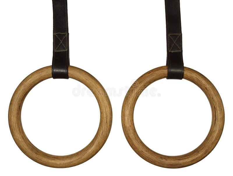 Gymnastic Rings Stock Photos