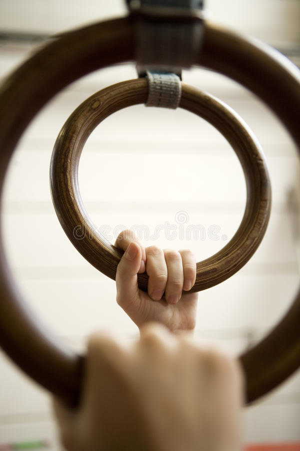 Download Gymnastic Rings stock photo. Image of gymnastics, competitive - 27177396