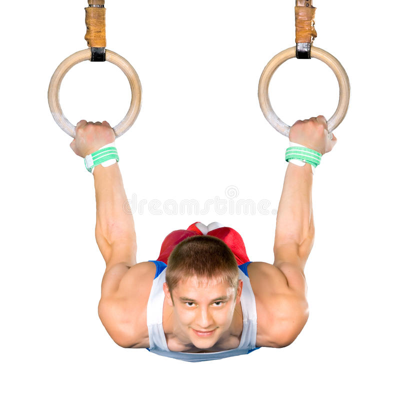 Download Gymnastics stock photo. Image of champion, background - 16410422