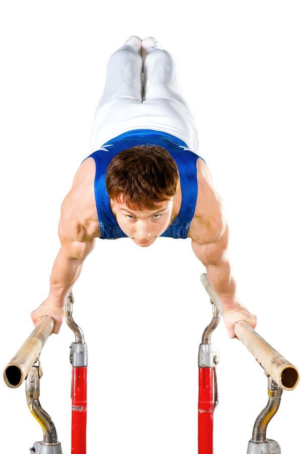 Download Gymnastics stock image. Image of leader, athletics, brawny - 16410431