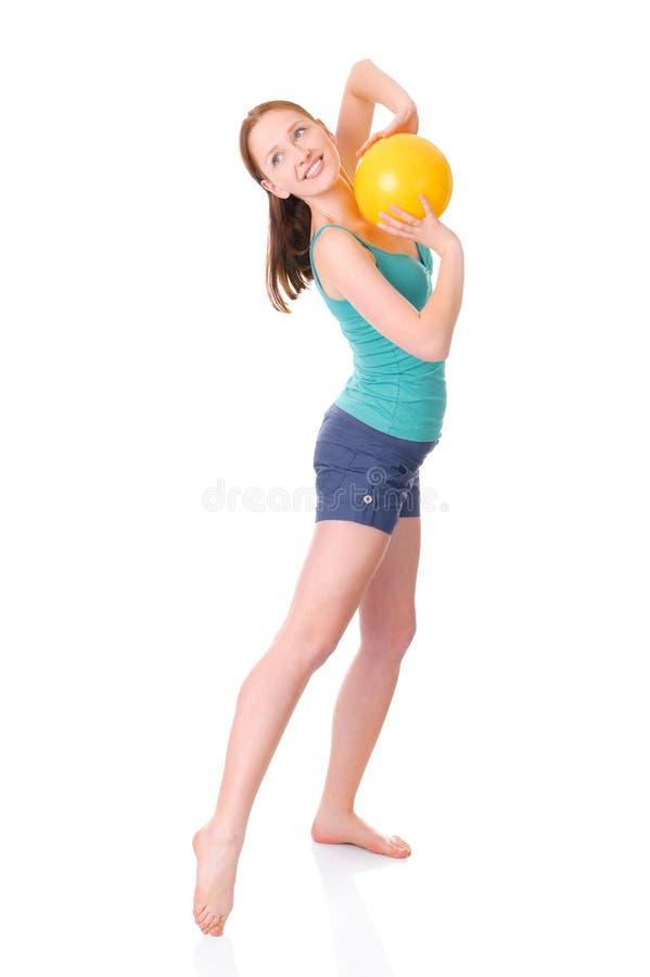 Download Gymnastics stock image. Image of smiling, female, model - 17679355