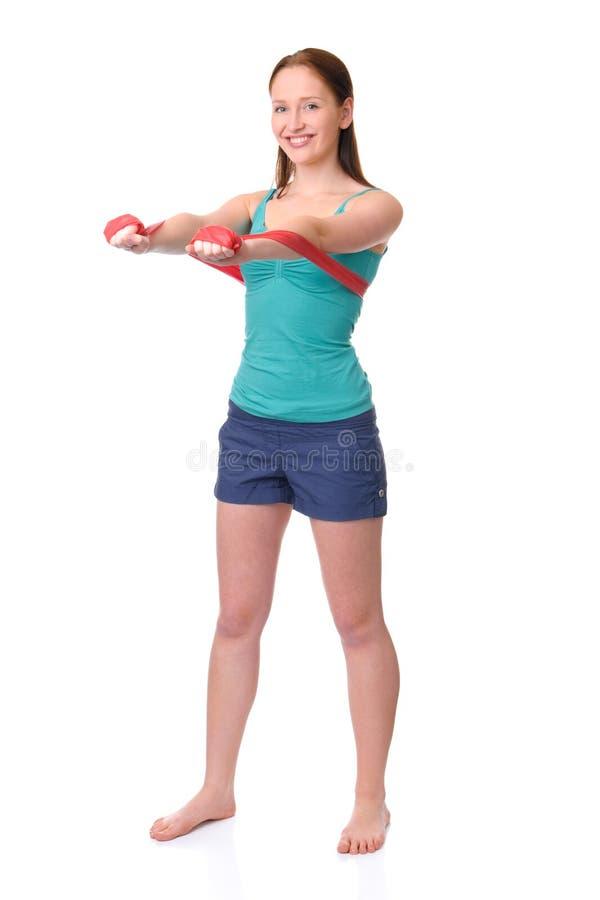 Download Gymnastics stock photo. Image of model, happy, energy - 19351152