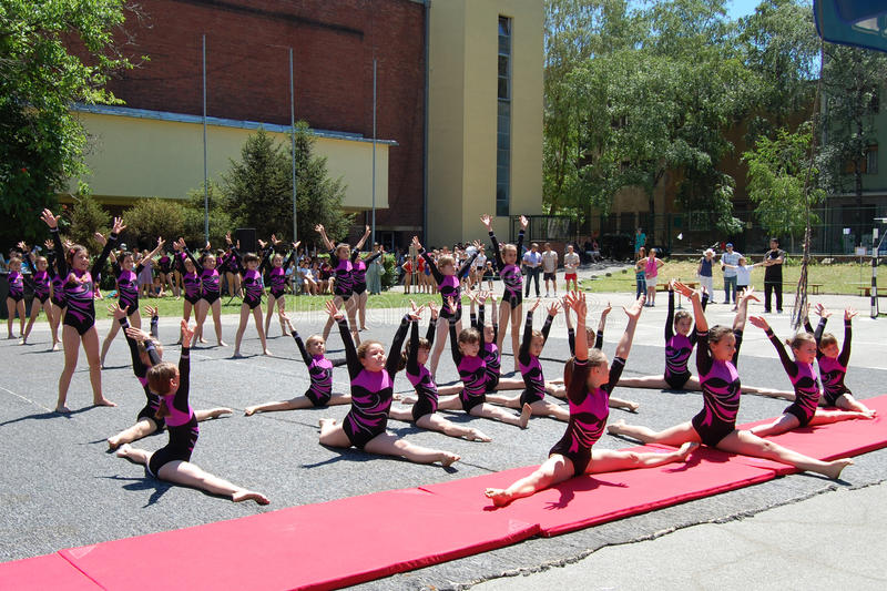 Download Gymnastics Event In Novi Sad Editorial Photography - Image: 25314282