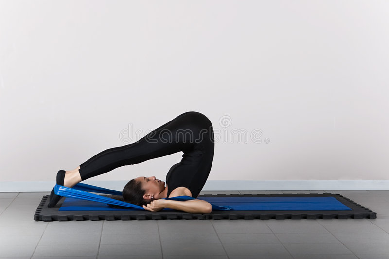 Download Gymnastics pilates stock photo. Image of loss, muscle - 3725938