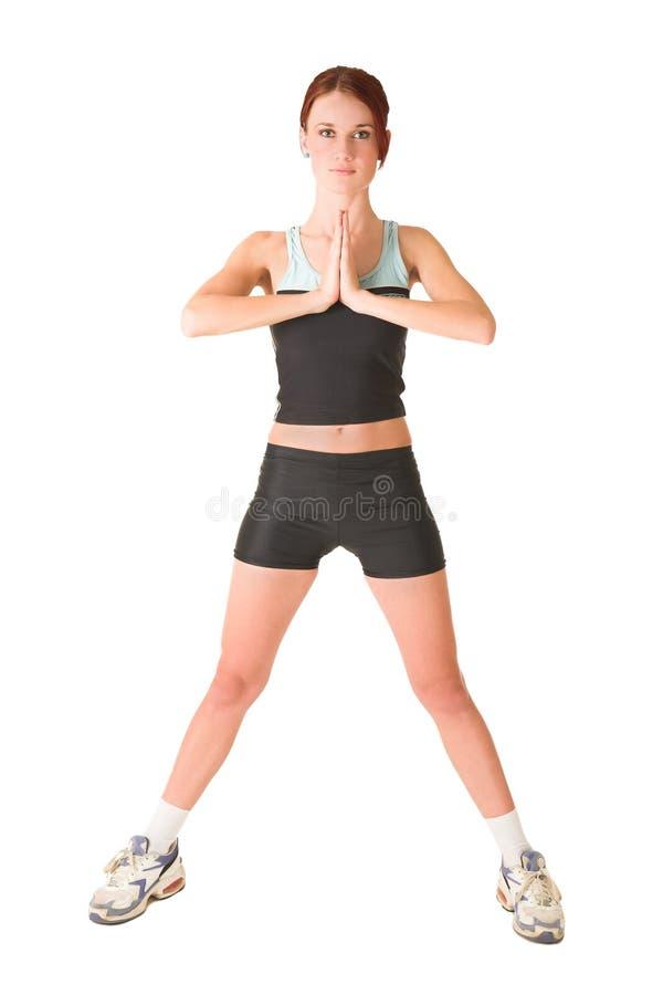 Gymnastiek #143 stock afbeelding