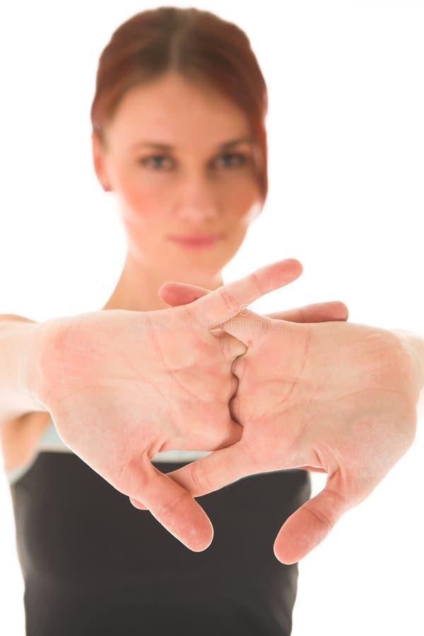 Gymnastiek #78 stock fotografie