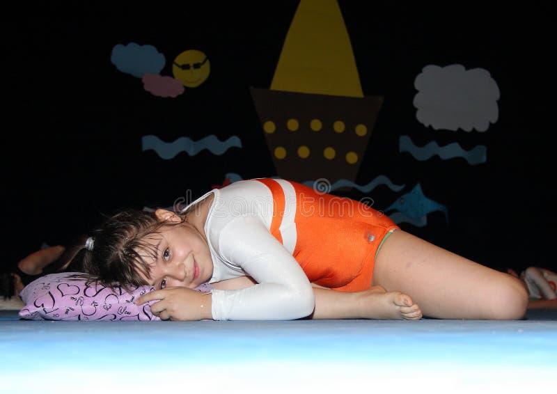 Gymnastiek voor kinderen royalty-vrije stock fotografie