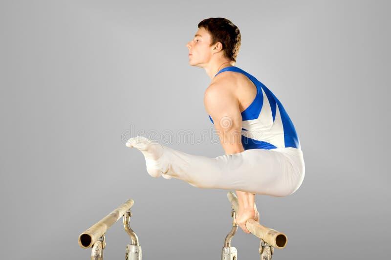Gymnastik lizenzfreie stockfotos