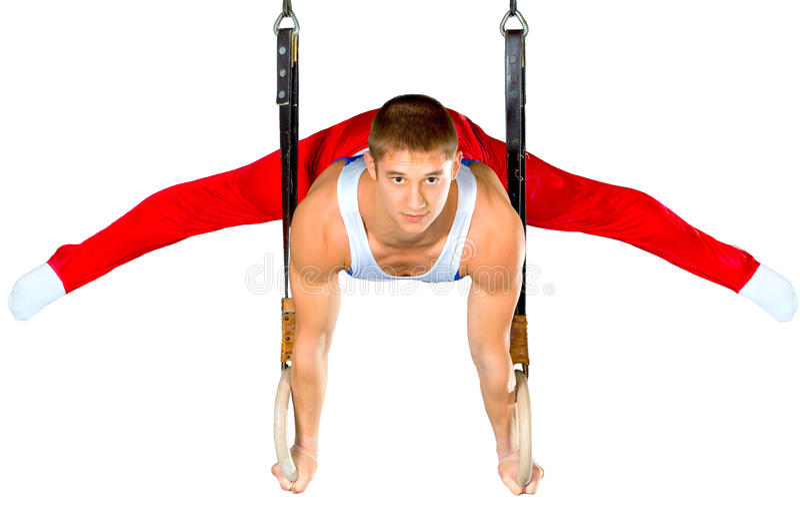 Gymnastik lizenzfreie stockbilder