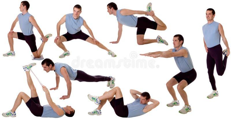 Gymnastik stockfoto