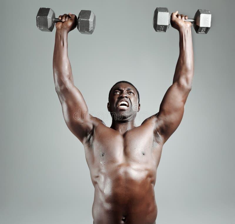 Gymnastik-Training stockbild