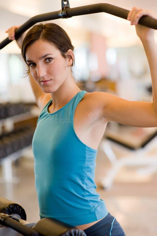 Gymnastik-Training lizenzfreie stockfotografie