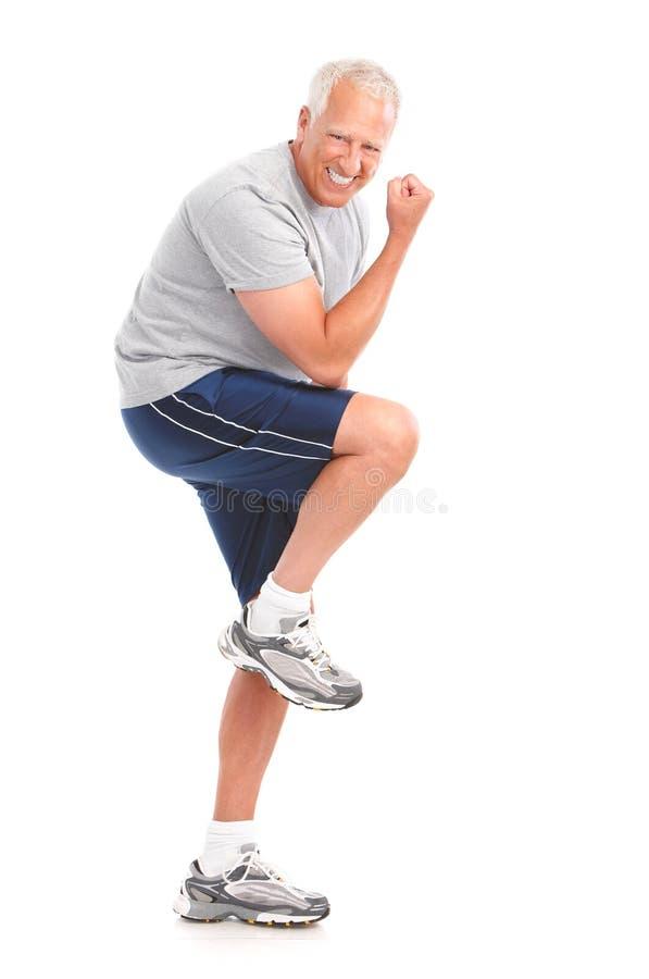 Gymnastik u. Eignung stockfoto