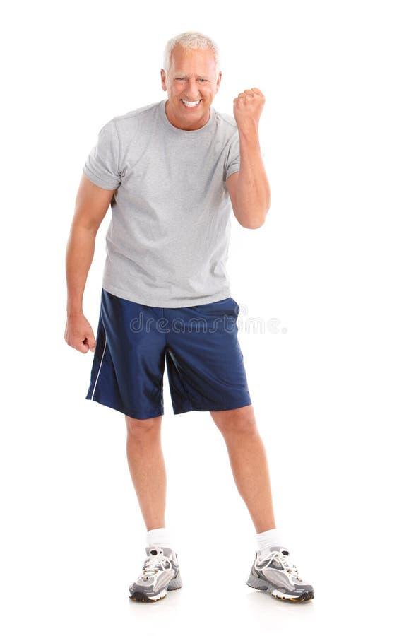 Gymnastik u. Eignung stockfotografie