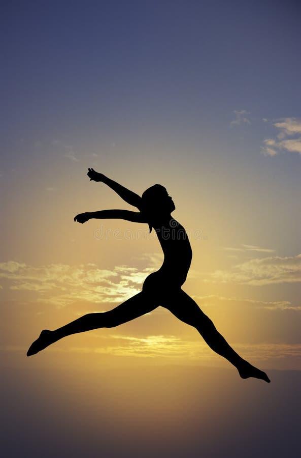 Gymnastikhimmel lizenzfreie abbildung