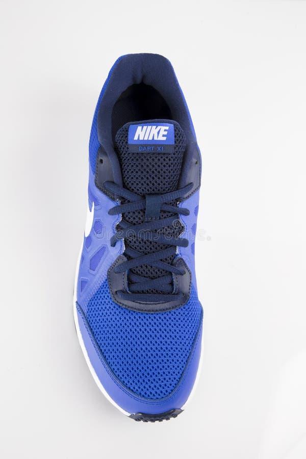 Gymnastiksko Nike Trail arkivbild