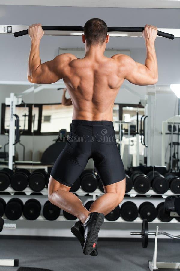 Gymnastiktraining stockfotos